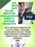 DISTINTAS FORMAS EVALUATIVAS DESDE EL ENFOQUE FORMATIVO PRÁCTICAS 2.pdf