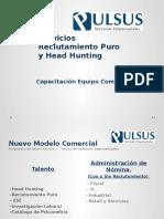 Capacitación Servicio Reclutamiento Puro y Hunting