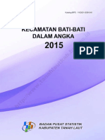 Kecamatan Bati Bati Dalam Angka 2015