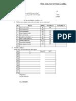 23. Analisis Hasil Evaluasi Belajar