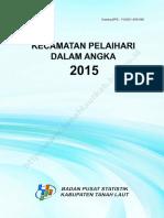 Kecamatan Pelaihari Dalam Angka 2015
