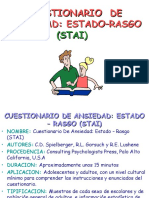 Cuestionario de Ansiedad Estado–Rasgo