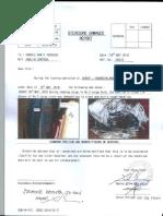 Stevedore Damage Report