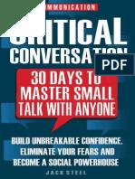 Communication Critical Convers - Jack Steel