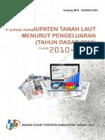 PDRB Kabupaten Tanah Laut Menurut Penggunaan Tahun 2012 2014