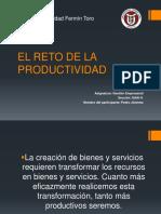 El Reto a La Productividad (FASE 2)