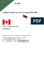 Canada Tax Guide 2009- En Final