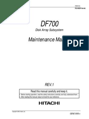 df7150all - df700 maintenance manual Rev1 05-05 pdf