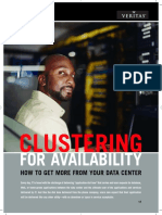Clustering for Availability