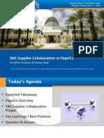 SNC Supplier Collaboration at PepsiCo