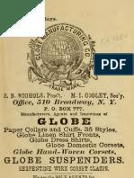(1880) Globe Manufacturing Company (Catalogue)