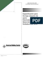 AWS A5.5-2006 Especificación para electrodos de baja aleación.pdf