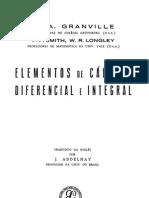 W. Granville - Elementos de Cálculo Diferencial e Integral