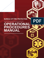 Operational Procedures Manual Bureau of Fire