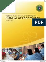 Tubercolosis Control Program Manual of Procedure