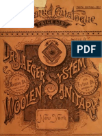 (1891) Illustrated Catalogue Dr.Jaeger's Sanitary Woolen System Company