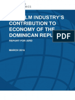 The Film Industry in the Dominican Republic Final