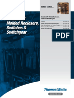 Elastimold Molded Reclosers Switches and Switchgear