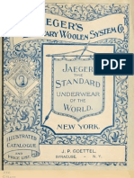 (1892) Dr.Jaeger's Sanitary Woolen System Company (Catalogue)