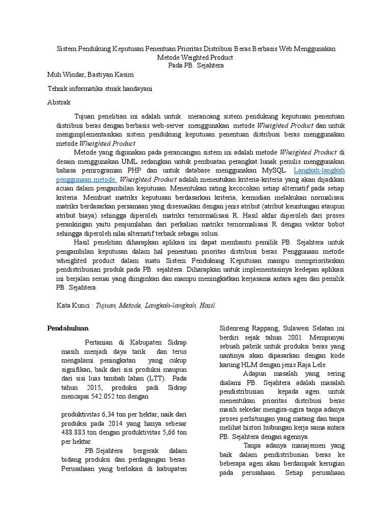Sistem Pendukung Keputusan Model Fuzzy AHP Dalam Pemilihan Kualitas Perdagangan Batu Mulia
