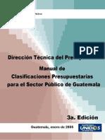 045_manual de Clasificacion Presupuestaria