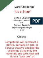 Junkyard Challenge v3