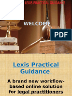 Lexis Practical Guidance