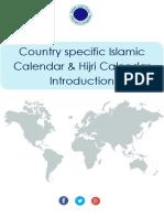Country Specific Islamic Calendar & Hijri Calendar Introduction - Makkah Calendar
