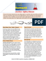 Eye and Face Protection_Safety Glasses
