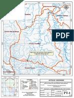 Mapa de La Unidad Hidrografica