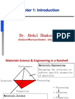 SELECTION OF MATERIAL