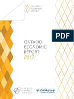 Ontario Economic Report 2017