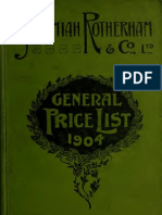 (1904) General Price List
