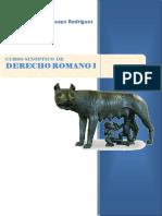 Curso Sinoptico de Derecho Romano 1 Socorro Moncayo Rodriguez
