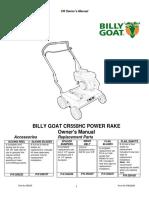 Billy Goat CR550HC