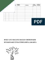 Log Book Magang