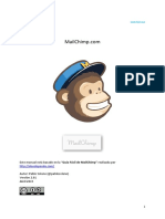 Manual Mail Chimp