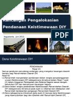 BAPPEDA-Rancangan-Pengalokasian-Pendanaan-Keistimewaan-DIY.pptx
