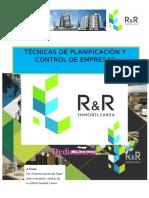 Plan Estrategico -Empresas Constructoras