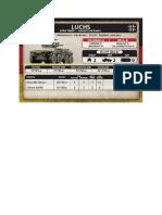 Team Yankee - Unit Card - Bundeswehr - Luchs Spähtrupp