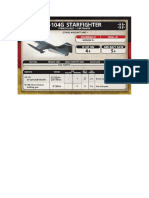 Team Yankee - Unit Card - Bundeswehr - F-104G Starfighter - AS-30 air-ground Missile