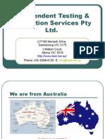 NDT, MT, MPI, PT, DPI Testing- itest.net.au