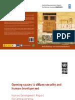 Human Development Report for Central America 2009-2010