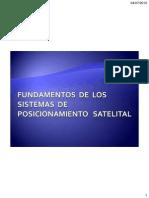 Fundamentos de Los Sistemas de Posicionamiento Satelital