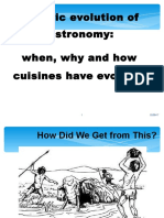 History of Gastronoomy