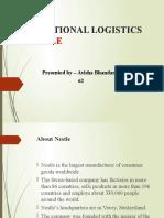 International Logistics of Nestle
