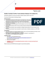 TB16-006 (NTF AUS VeriFire Tools Software Release_VFT_V9.10B73)