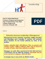 3 Leadership Students