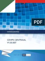 Handleiding Cevips-Centraal v1.03.007