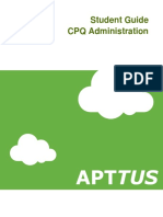 101 CPQ Basic Administration v3.1 Student Guide
